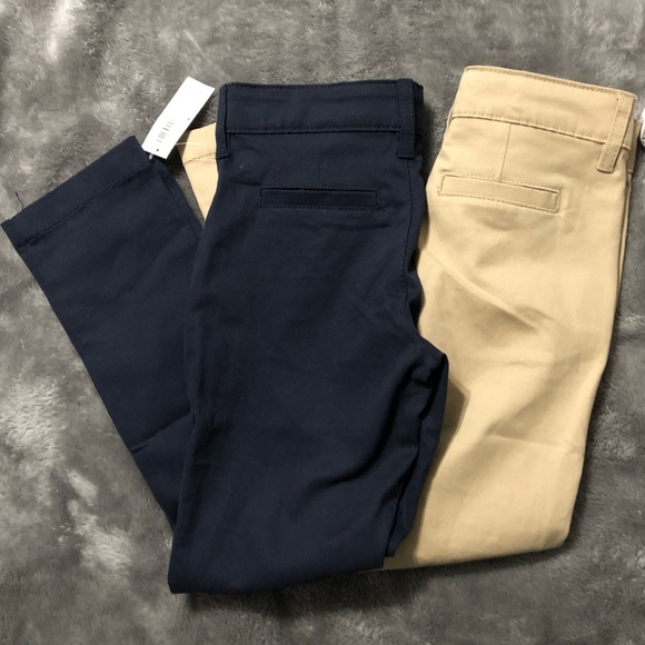 7ad397a44d Old Navy Bottoms | Bundle Of 2 Uniform Skinny Pants Girls 6 | Poshmark